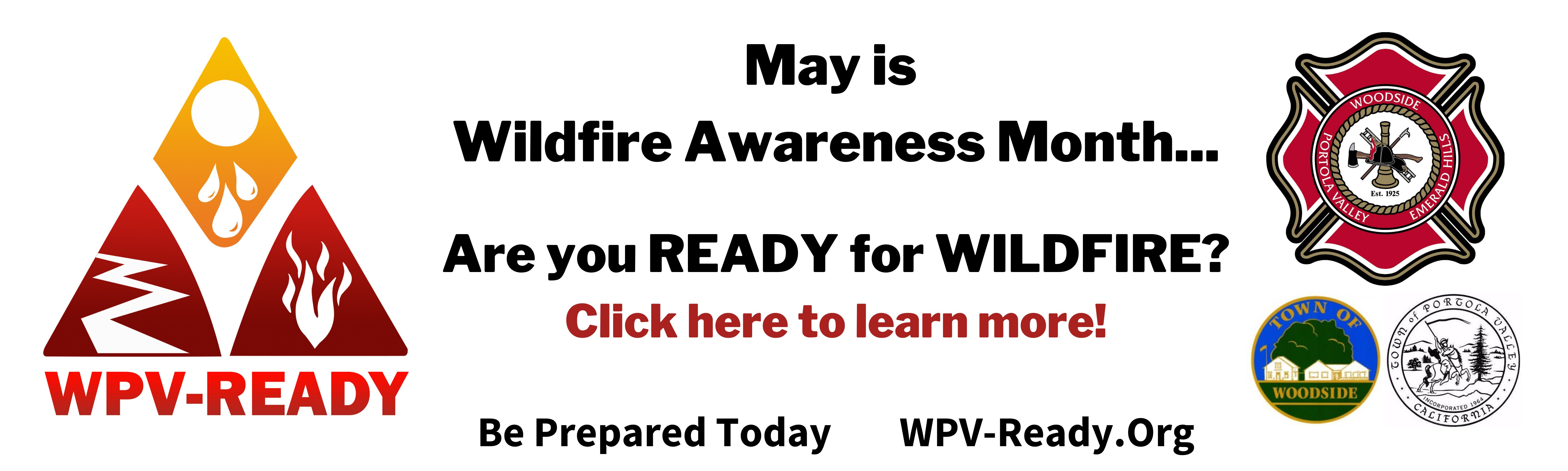 May is Wildfire Awareness Month - Are You Ready?